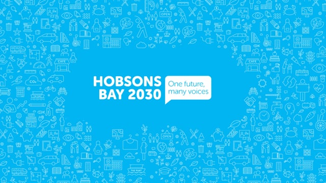 Hobsons Bay 2030 - the development of it.