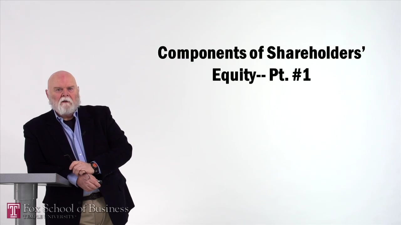 57137Components of Shareholders Equity I