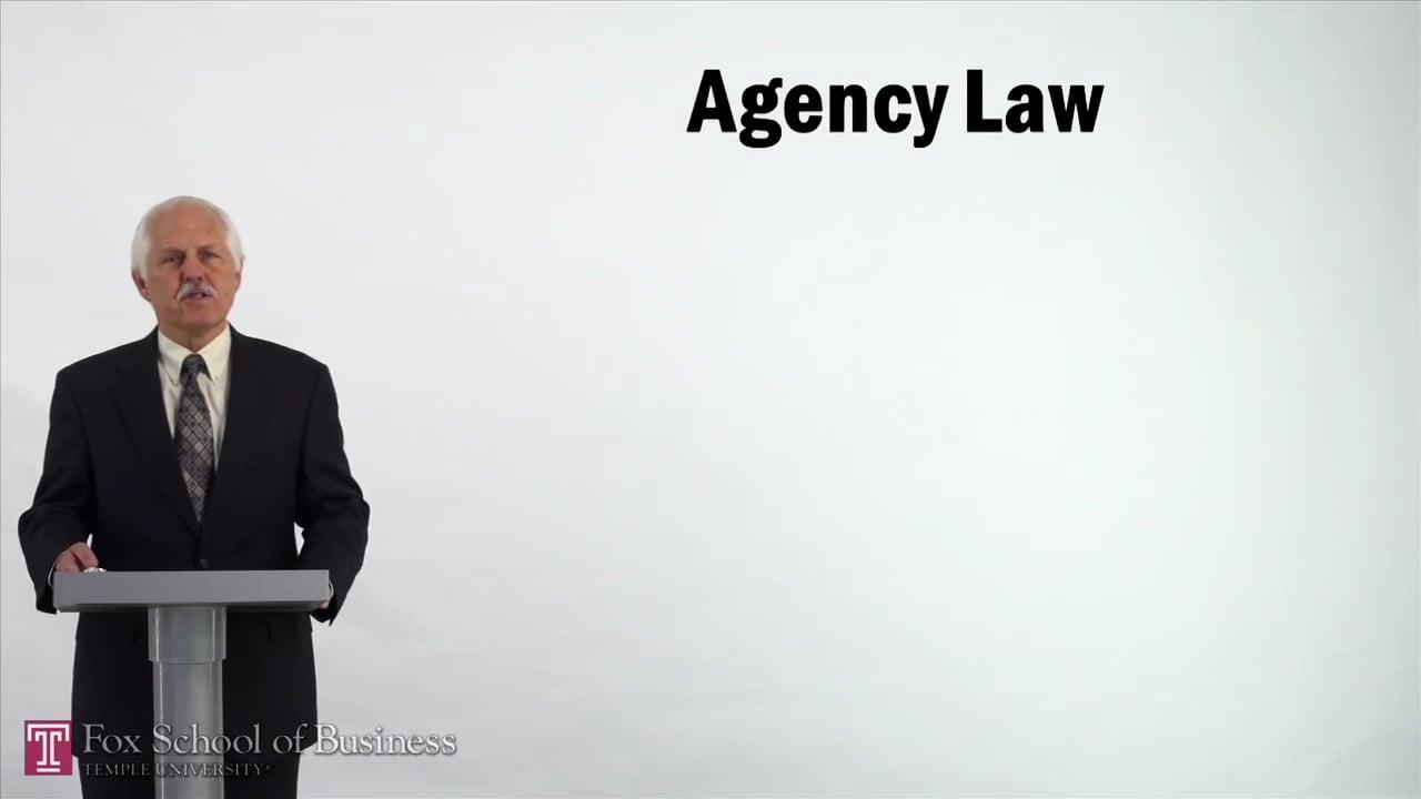 57138Agency Law