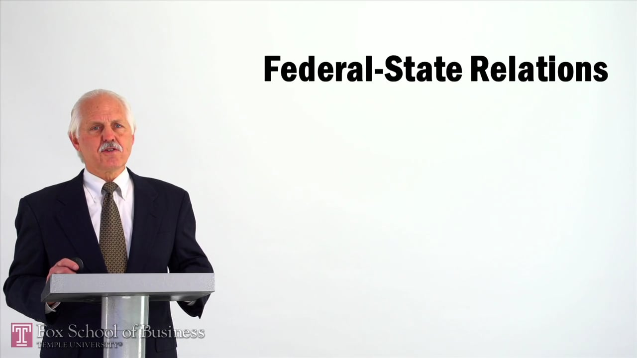 57065Federal-State Relations