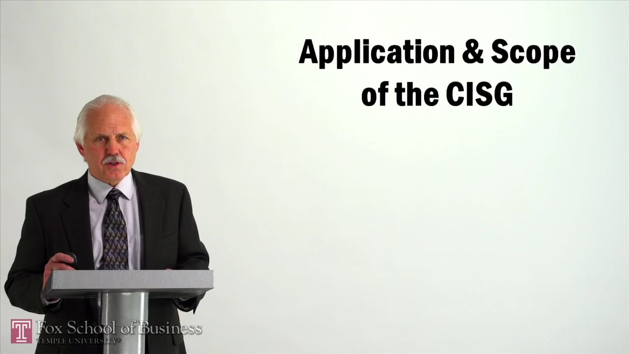 57053Application and Scope of the CISG