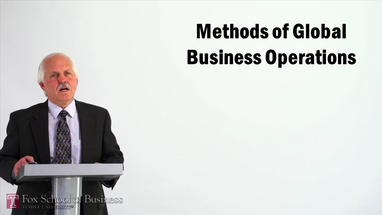 57003Methods of Global Business Operations