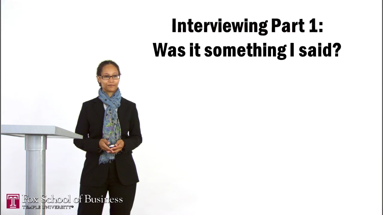 56962Interviewing I