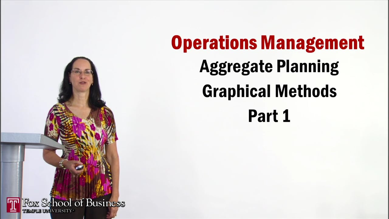 56938Aggregate Planning II: Graphical Methods Part 1