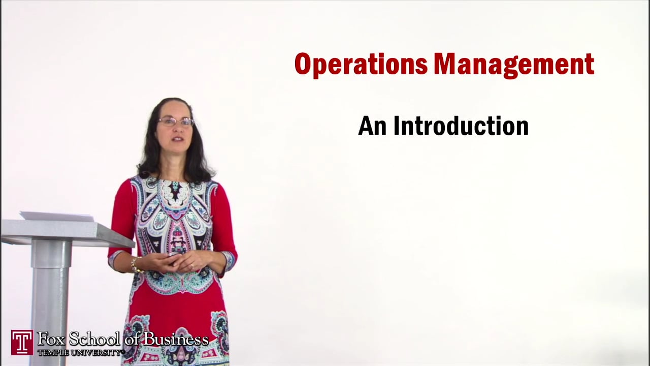 56928Introduction to Operations Management