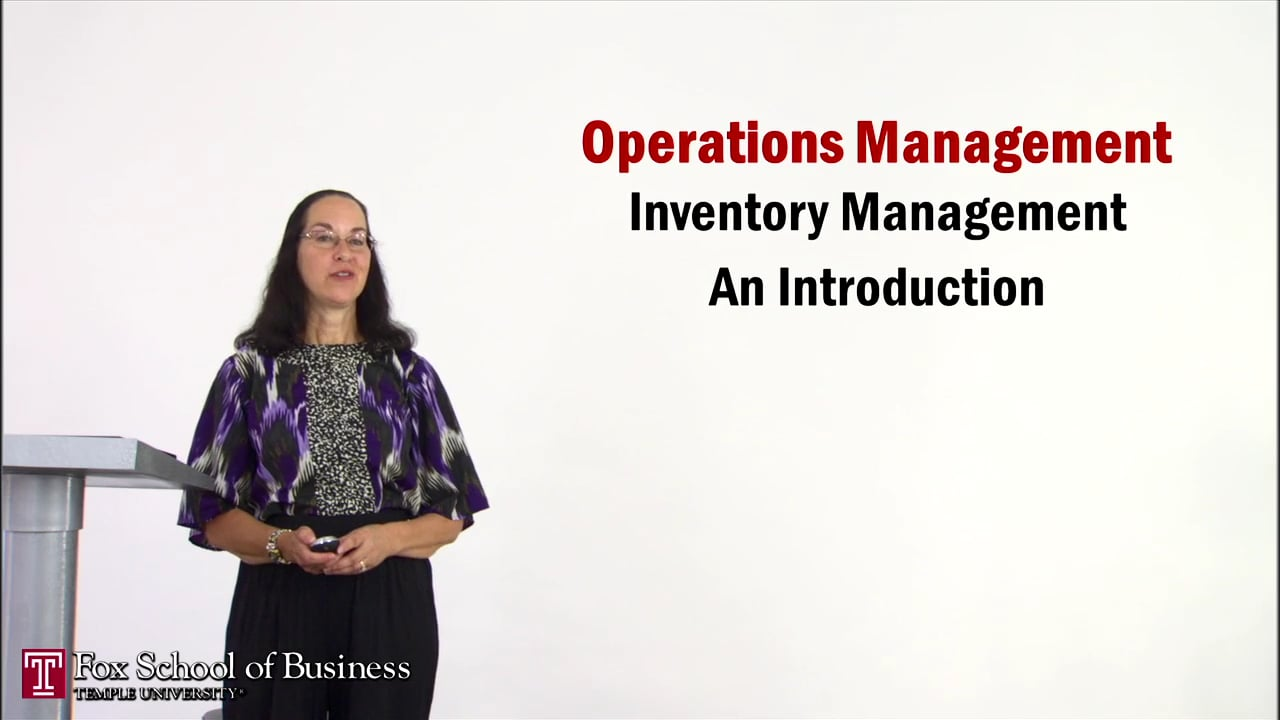 56929Inventory Management I: Introduction