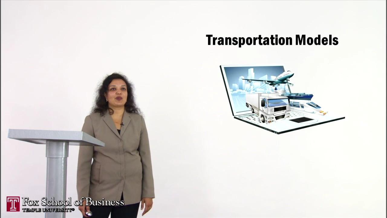 56905Transportation Models I
