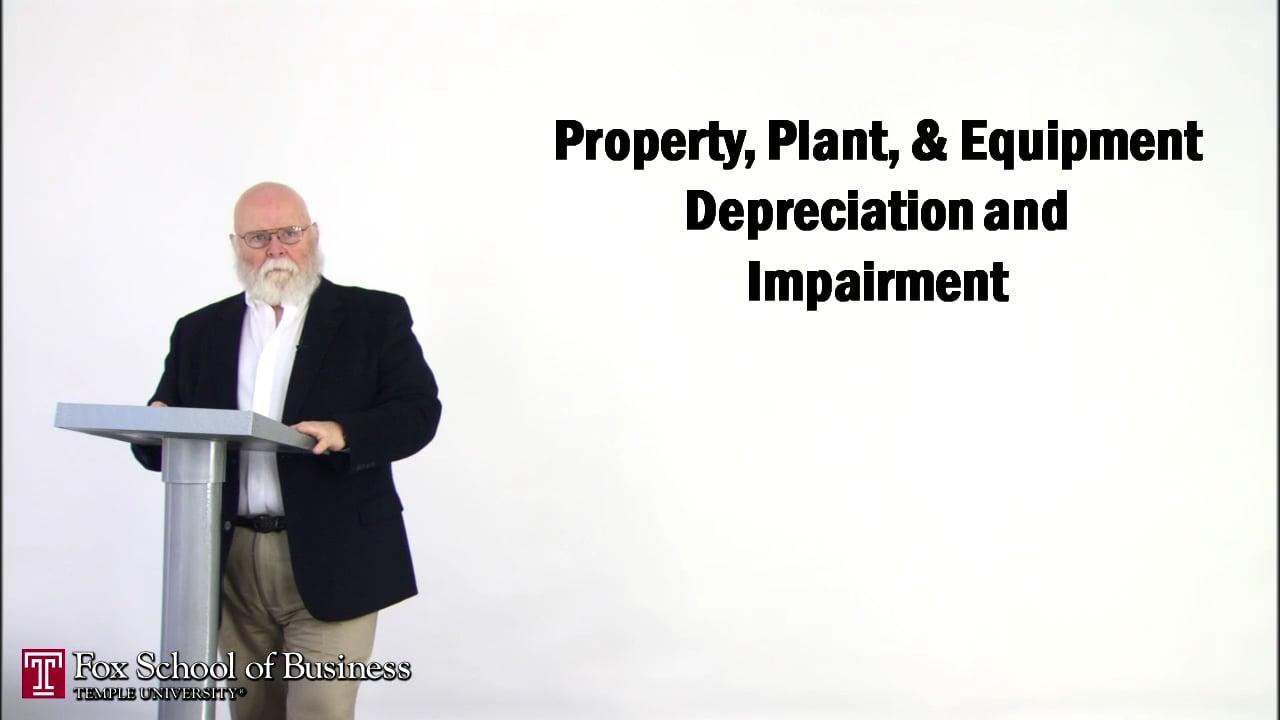 56882Property, Plant, & Equipment Depreciation and Impairment I