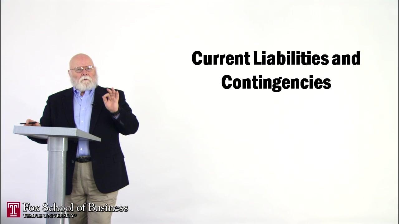 56885Current Liabilities and Contigencies I