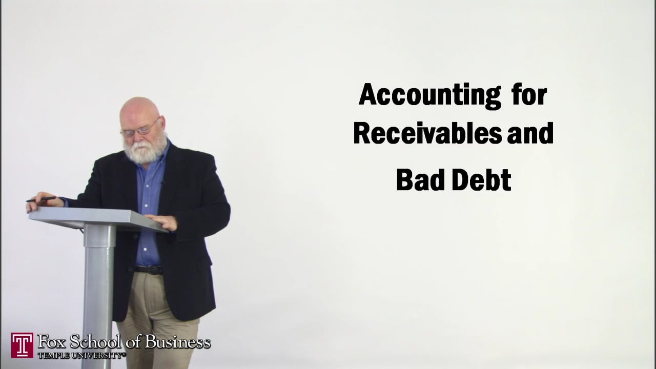 56874Accounting Receivables and Bad Debt