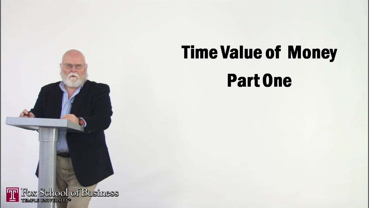 56868The Time Value of Money I