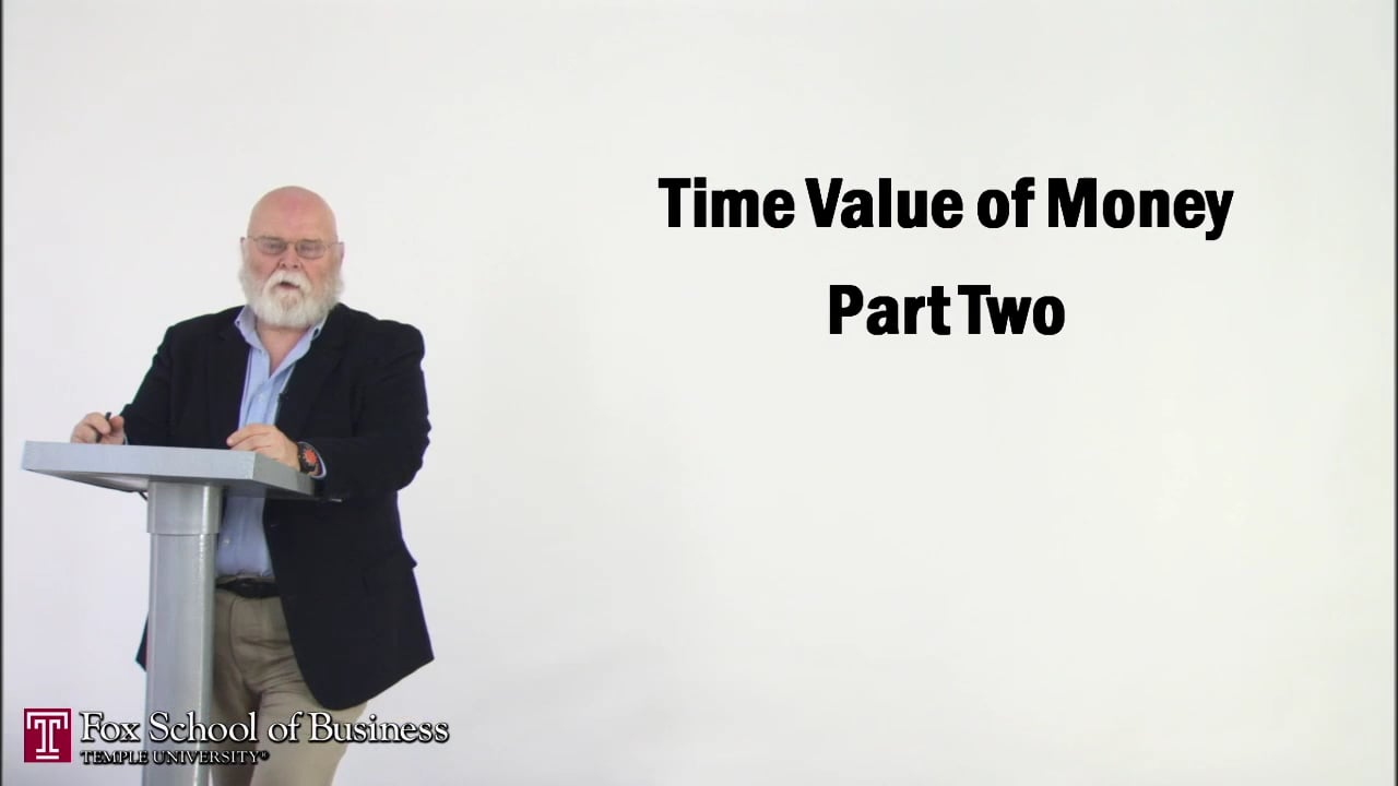 56869The Time Value of Money II