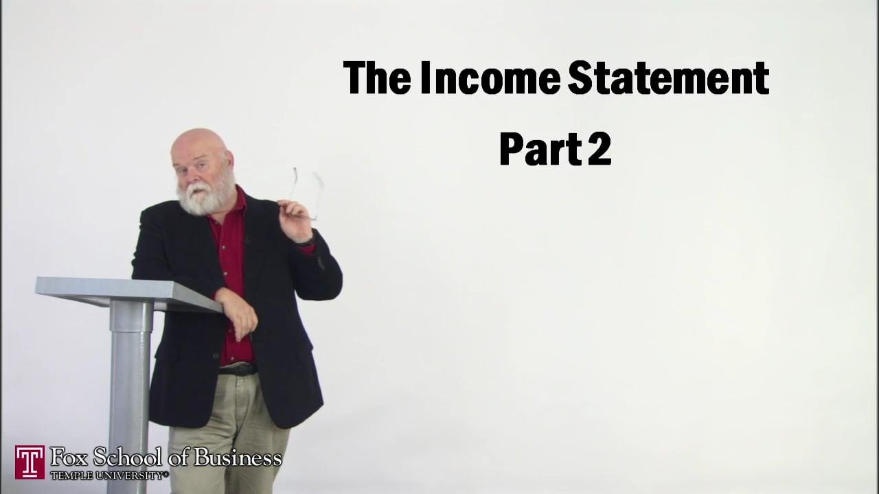 56862The Income Statement II