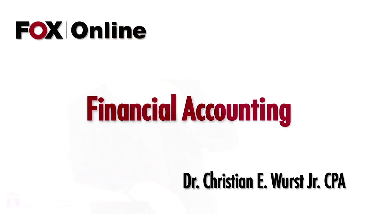 56856Introduction to Financial Accounting