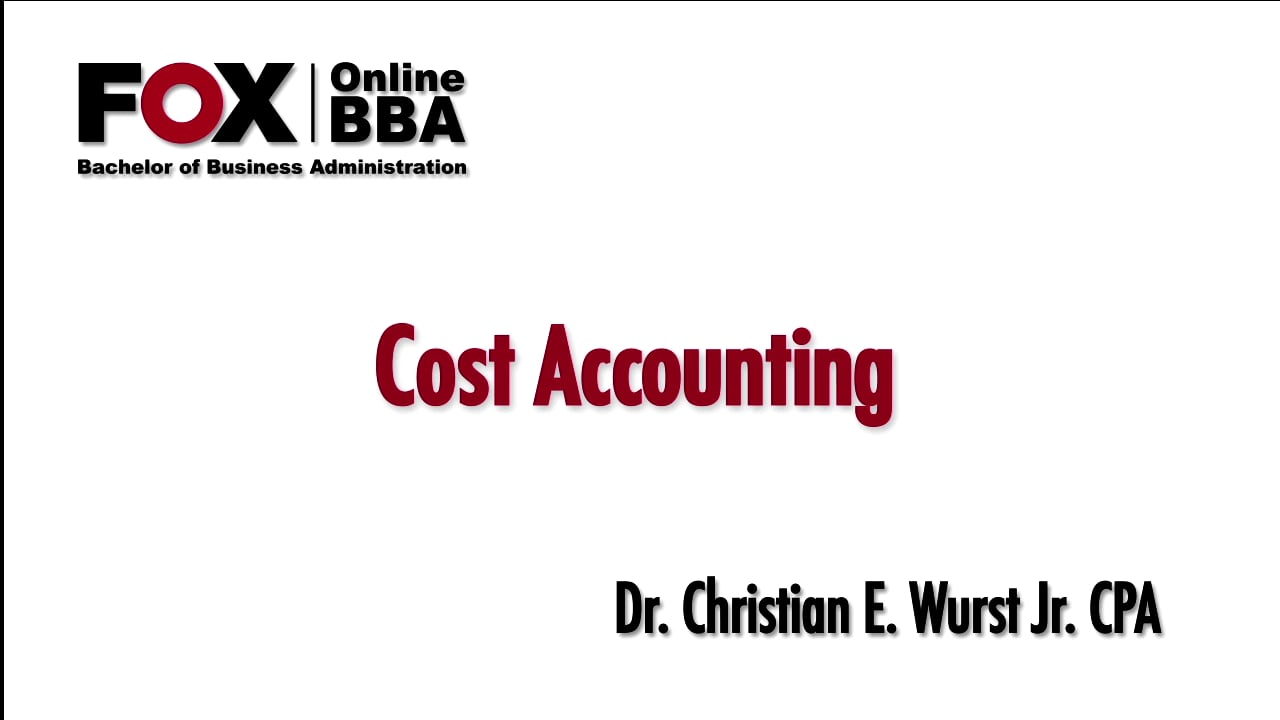 56833Cost Analysis for Decision Making II