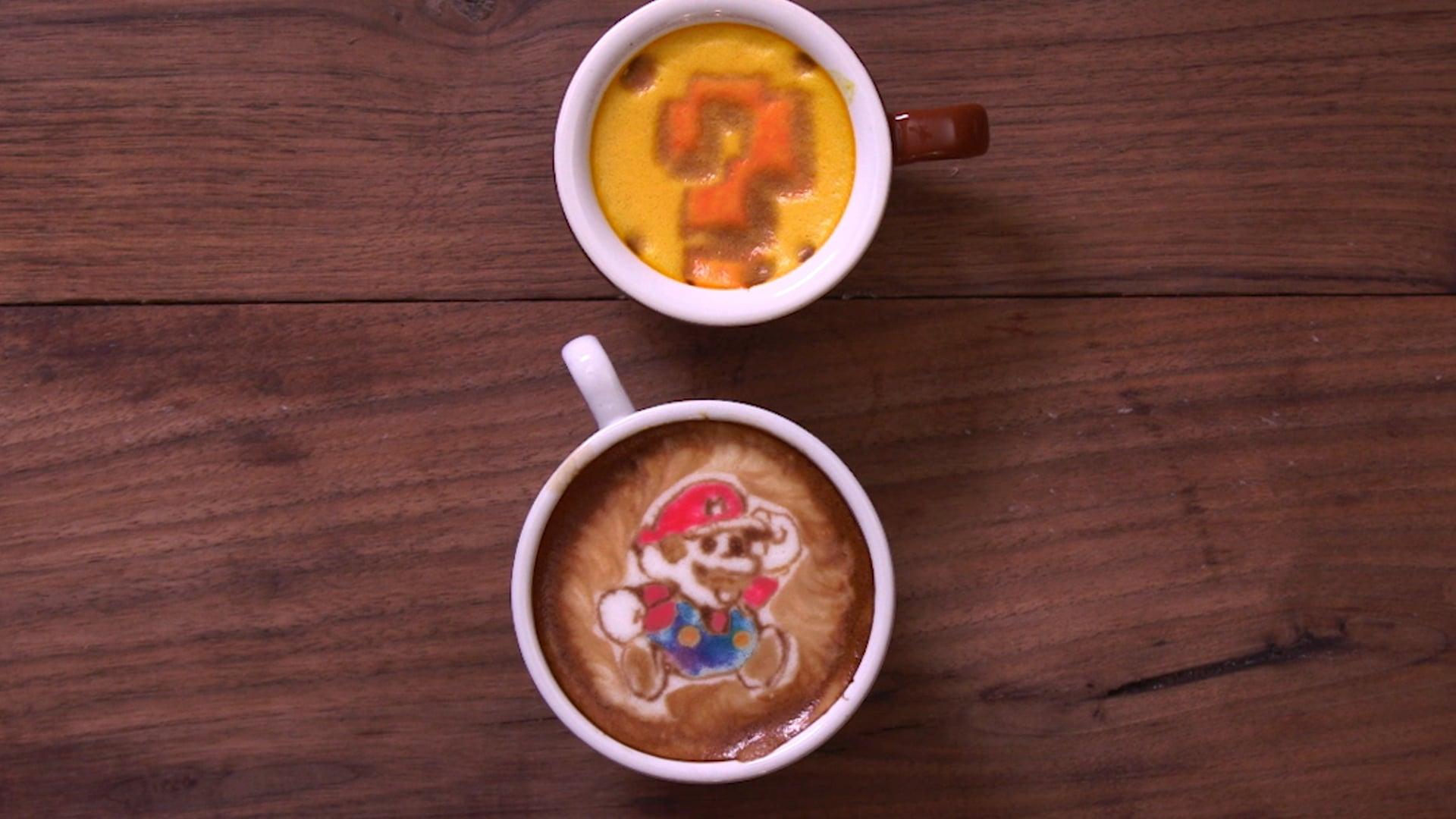 Super Mario Latte