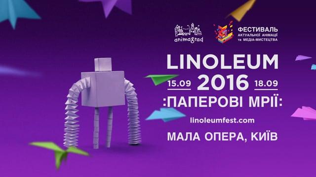 Linoleum International Contemporary Animation and Media-Art Festival Promo