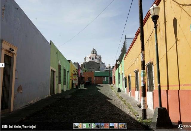 Casa de Alfeñique: ornato dulce, petatillo y azulejos