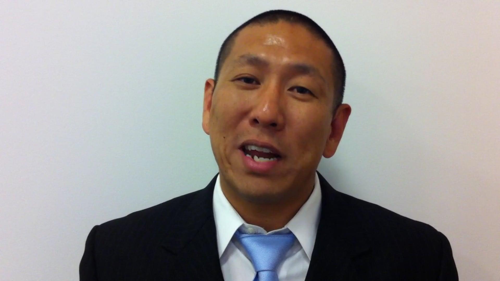 Steven Kim-Orange County Dept. Of Education Program Specialist Gives Testimonial For Motivational Speaker Mark Anthony Garrett
