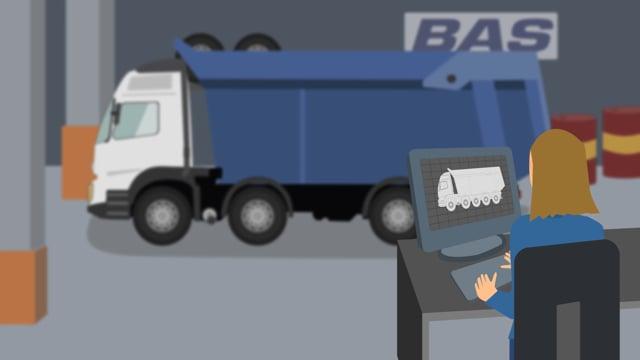 BAS Mining Trucks  -  Van Langen Media