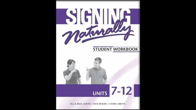 SN 7-12 Student Workbook