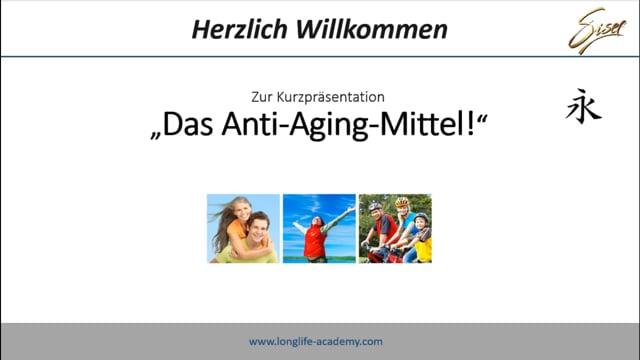 DAS Anti-Aging-Mittel