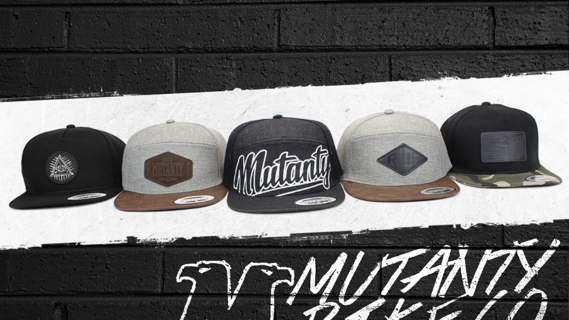 MUTANTY SNAPBACK HATS