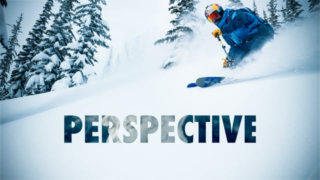 """Perspective"" ski video from Peak Performance"