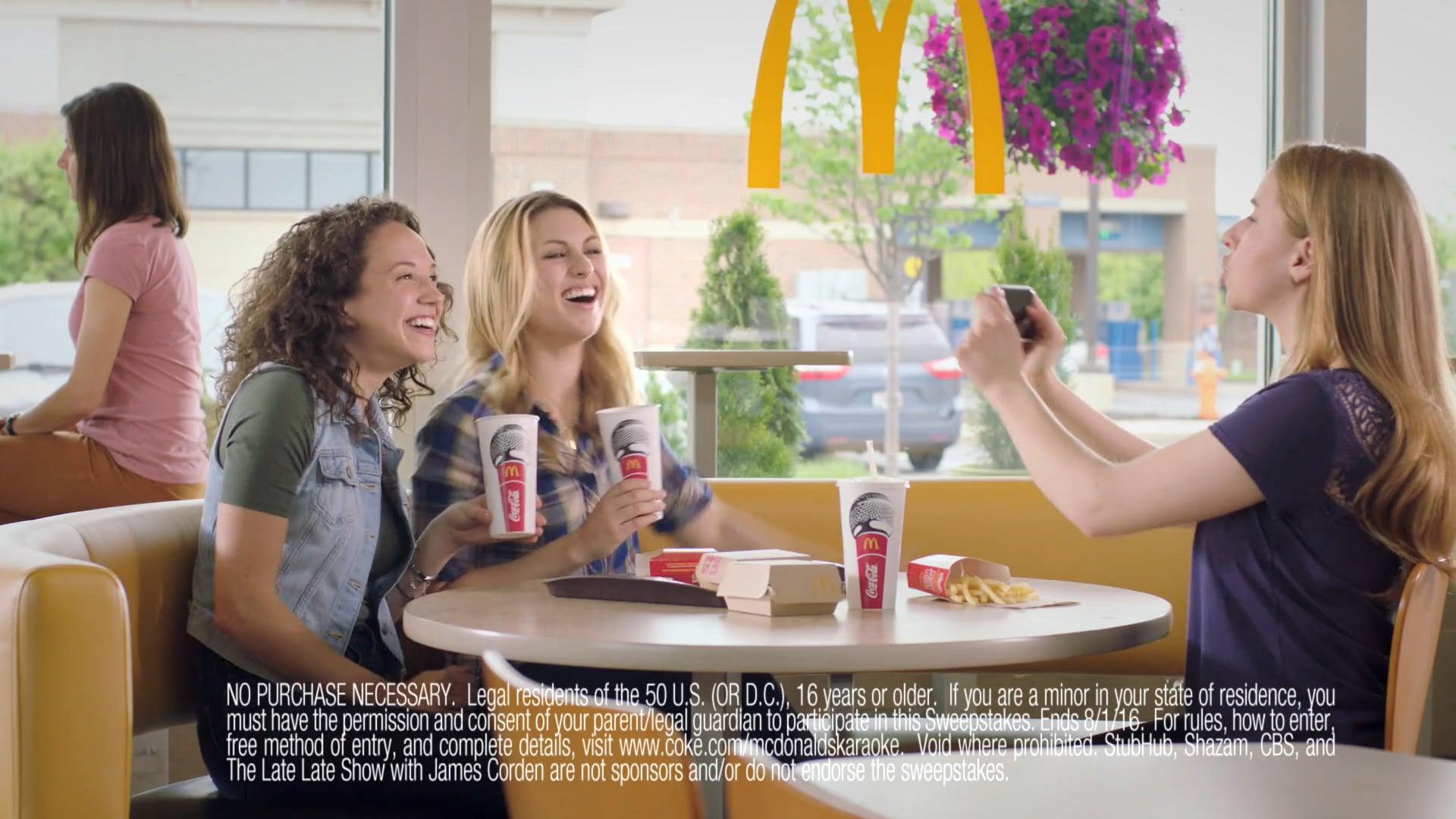 McDonalds/Coca-Cola Photo Booth