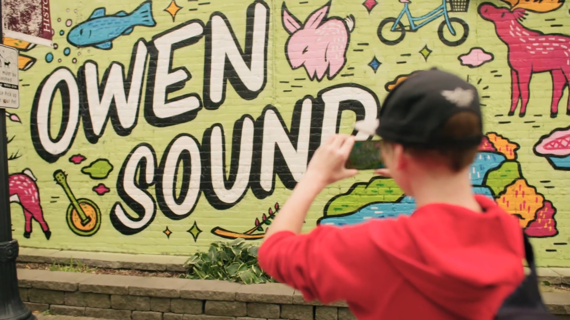 Koodo Love Letter To Owen Sound Mural