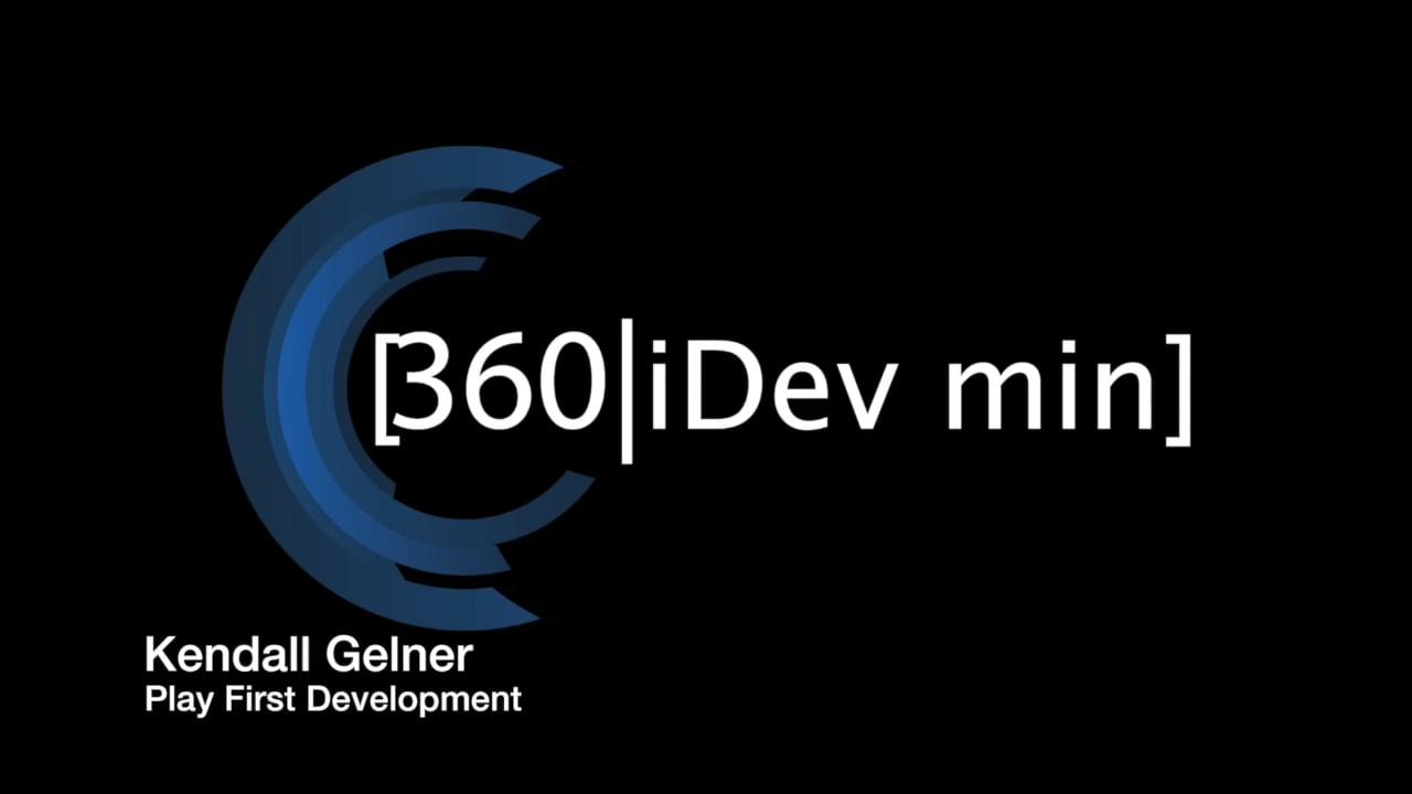 Kendall Gelner: Play First Development