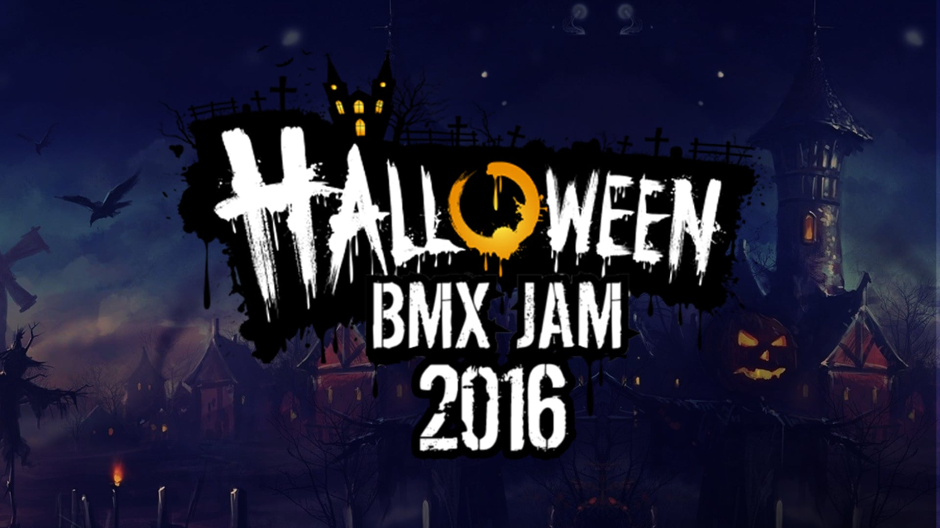 HALLOWEEN BMX JAM 2016