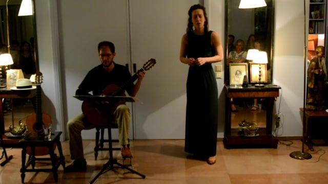 Alexandros Theocharis & Elina Kanellopoulou at Katakouzenos Museum, 2016