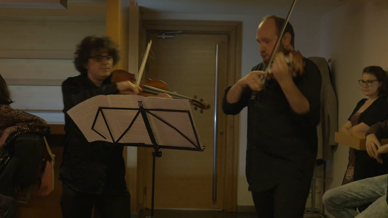 [aghet] - [ağıt]: Saša Mirković and Cenk Erbiner Viola Performance