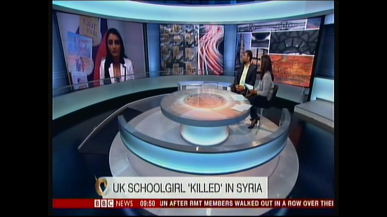 Aneeta Prem comments on London Schoolgirl killed in Syria Radicalisation of young people