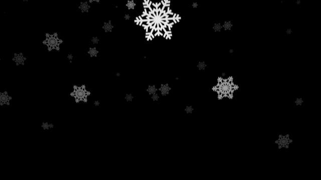 snowflakes, snow, winter
