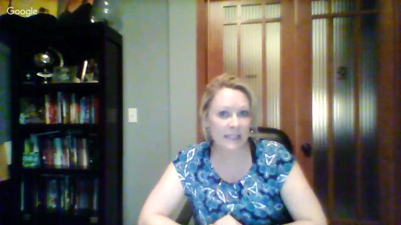 11.9.16 Live Well Partner Webinar with Tina Siegrist