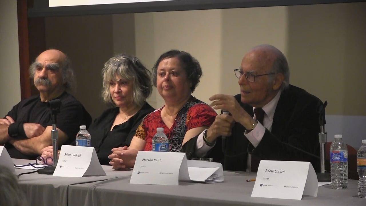 NYU Panel (10/21/2016)