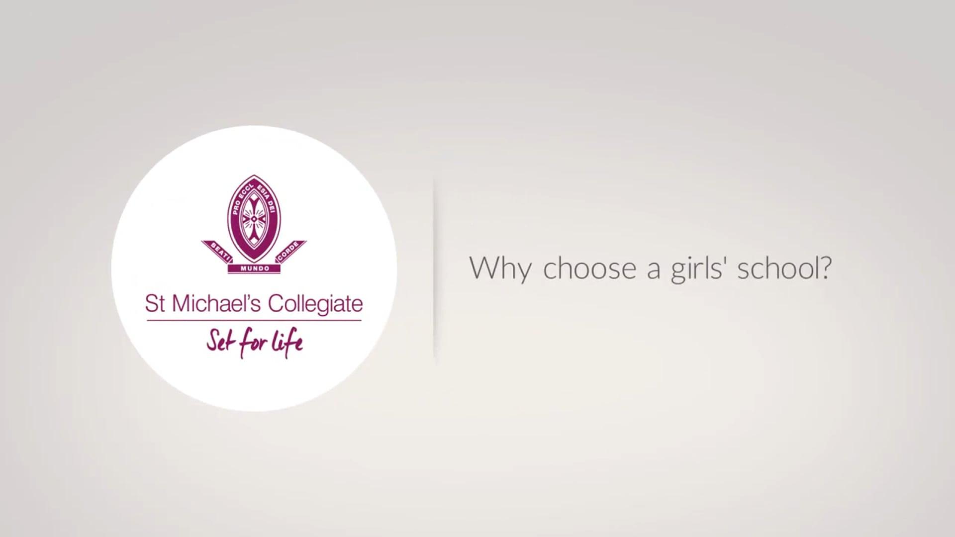 Why a girls' school?