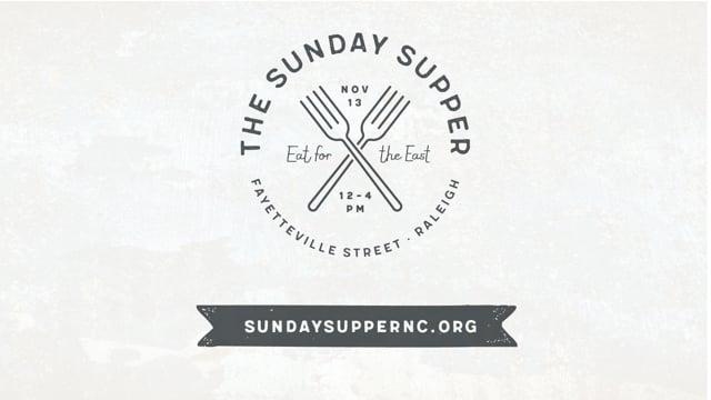 Sunday Supper Sponsorship