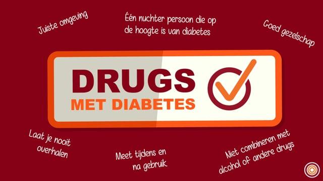 Diabetes en drugs - Diabetes Vereniging Nederland