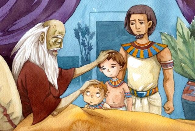 12 Parsha VaYechi - Torah Treasures
