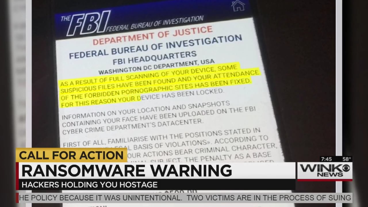 """MonsterCloud's CEO Zohar Pinhasi interviewed by """"CBS"""": Ransomware virus uses fake FBI threat, which effects android devices"""