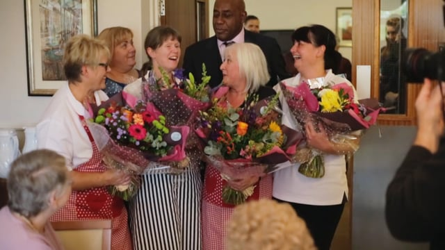Making a Difference Challenge Winners with Ainsley Harriott
