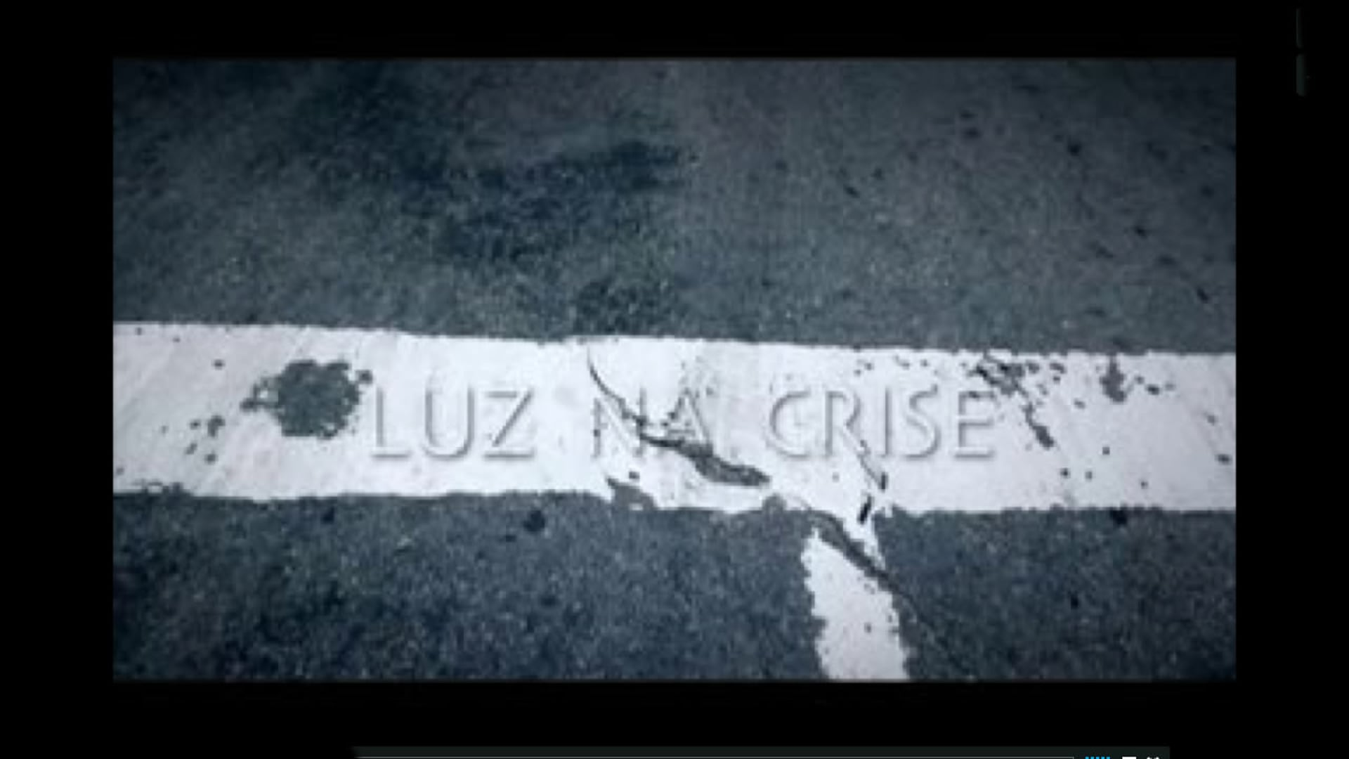 LUZ NA CRISE