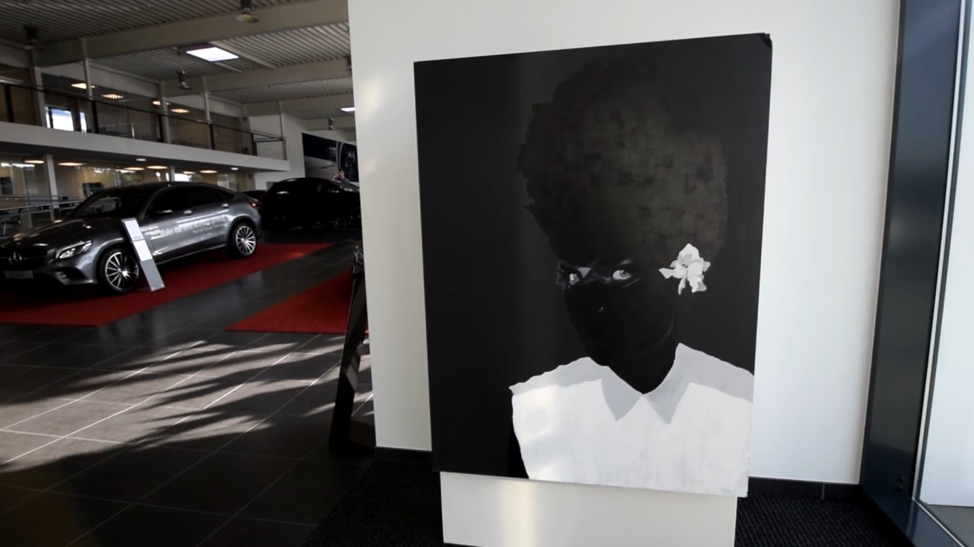 Exhibition by Mercedes-Benz Katshiunga