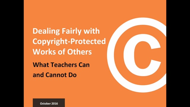 Dealing Fairly with Copyright-Protected Works of Others
