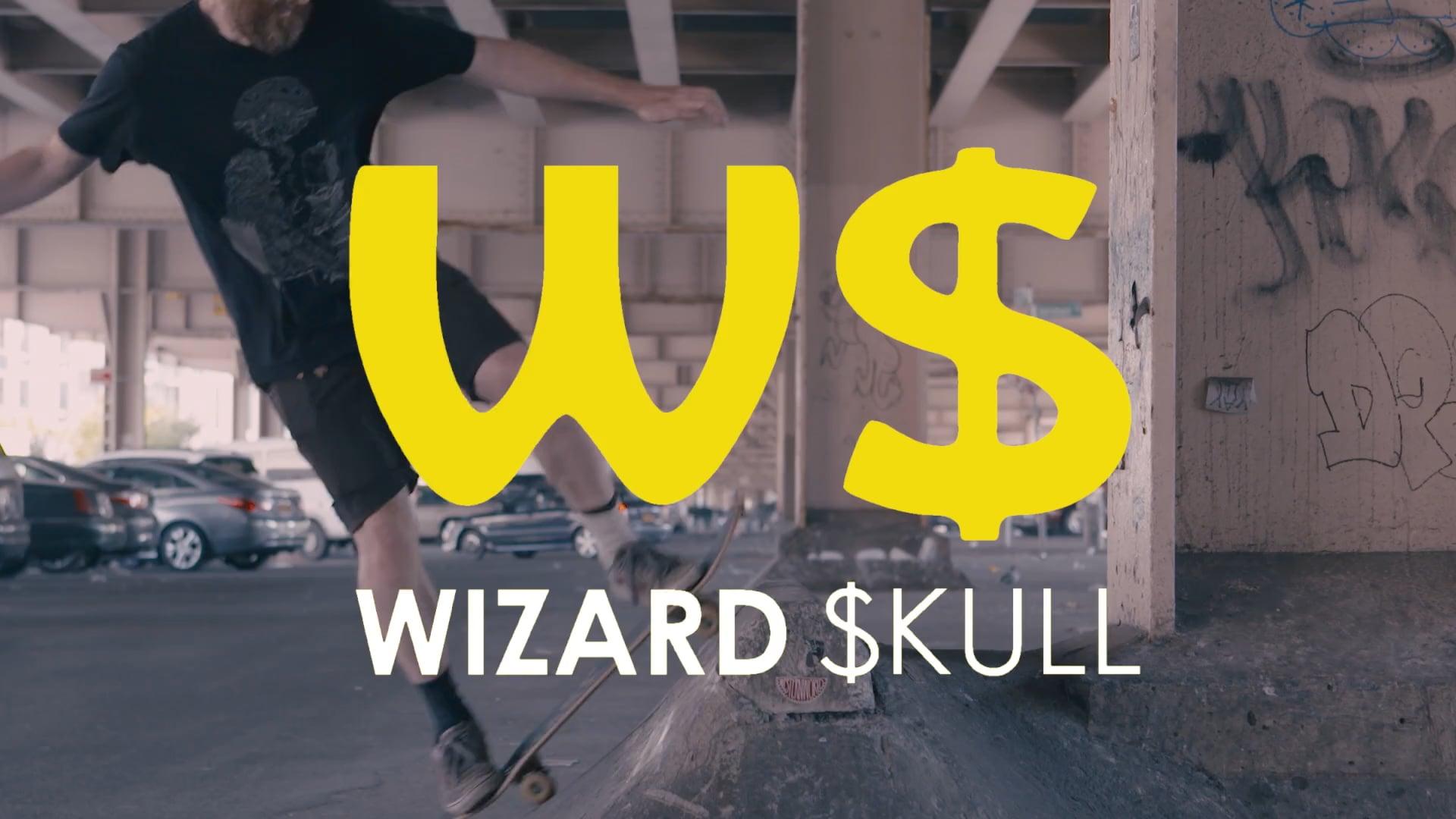 Wizard Skull Portrait