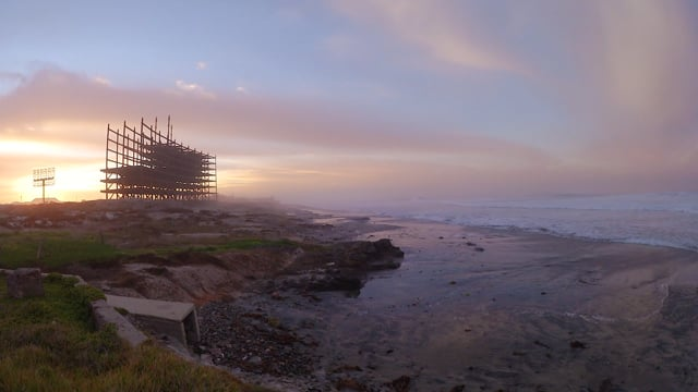 Timelapse of Moonset and Sunrise in Rosarito, B.C.
