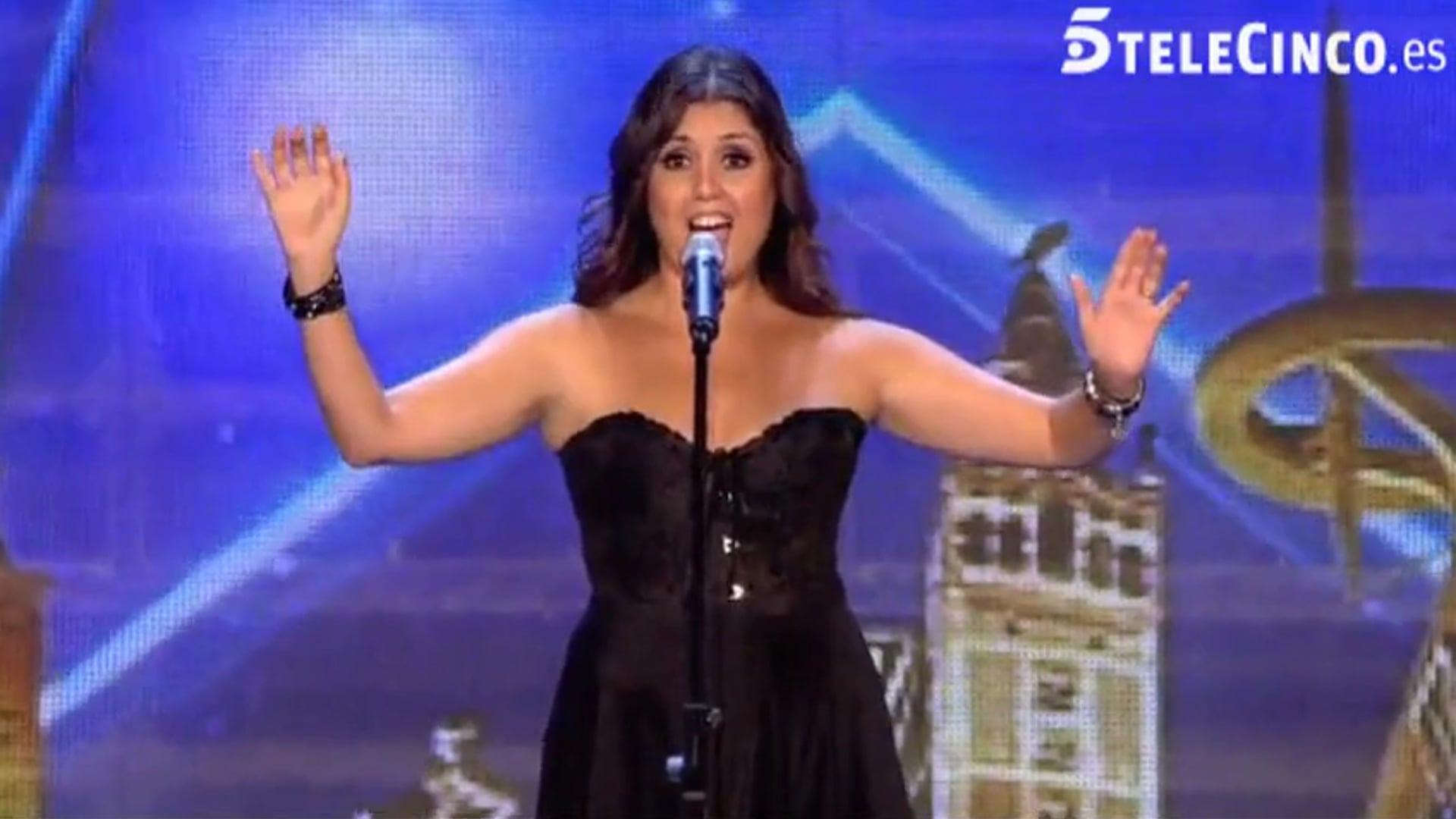 Cristina Ramos - Got Talent España (Highway to Hell)